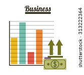 business digital design  vector ... | Shutterstock .eps vector #313222364
