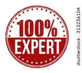 100   expert grunge rubber... | Shutterstock .eps vector #313236104