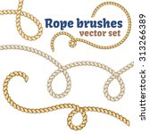 Nautical Rope Brushes Set....