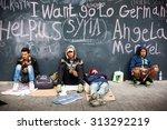 budapest   september 4   war...   Shutterstock . vector #313292219