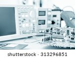 printed circuit board for the... | Shutterstock . vector #313296851