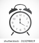stopwatch web black icon... | Shutterstock .eps vector #313298819