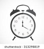 stopwatch web black icon... | Shutterstock .eps vector #313298819