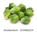 A Pile Of Brussels Sprouts On ...