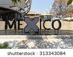 milan  italy  12 august 2015 ... | Shutterstock . vector #313343084