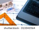 construction industry... | Shutterstock . vector #313343564