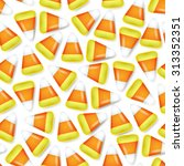 Candy Corn Sweets Seamless...