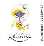 krishna | Shutterstock .eps vector #313359437