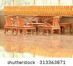 capturing the group of tables ...   Shutterstock . vector #313363871