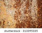 metal rust background | Shutterstock . vector #313395335