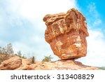 Balanced Rock In The Garden Of...