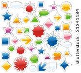 vector editable isolated web... | Shutterstock .eps vector #31341184