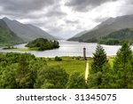 View Of Scottish Highland From...