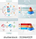 vector infographics element... | Shutterstock .eps vector #313464329