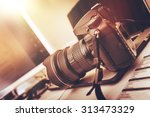 digital photography workstation.... | Shutterstock . vector #313473329