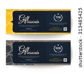 gift voucher premier color   Shutterstock .eps vector #313485425