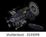 EOS Mars Program NeoMiner - Robotic Asteroid Mining Equipment - stock photo