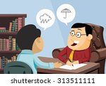 funny experienced attorney... | Shutterstock .eps vector #313511111