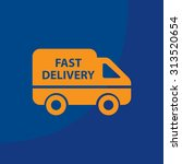 fast delivery icon . vector...