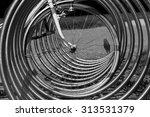 bicycle rack  | Shutterstock . vector #313531379