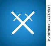 sword icon vector beautiful ...   Shutterstock .eps vector #313575854