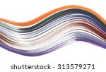 colored paper line isolated | Shutterstock . vector #313579271