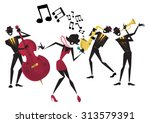 abstract style illustration of... | Shutterstock .eps vector #313579391