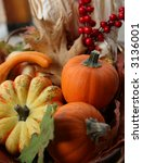 Colorful Thanksgiving Harvest...