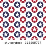 seamless pattern made from five ... | Shutterstock .eps vector #313605737
