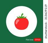 tomato icon | Shutterstock .eps vector #313629119