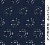 seamless pattern  japanese art  ... | Shutterstock .eps vector #313664114