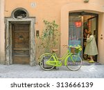 rome  italy   april 18th 2015.... | Shutterstock . vector #313666139