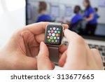 alushta  russia   august 29 ... | Shutterstock . vector #313677665