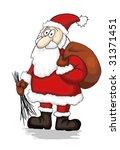 santa claus | Shutterstock .eps vector #31371451