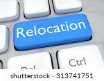 render illustration of keyboard ... | Shutterstock . vector #313741751