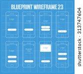 mobile wireframe app ui kit 23. ...