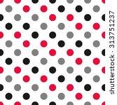 Polka Dot Pattern  Seamless...