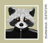 hand drawn fashion illustration ...   Shutterstock .eps vector #313767194
