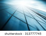 panoramic and perspective wide... | Shutterstock . vector #313777745