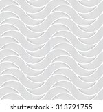seamless background with wavy... | Shutterstock .eps vector #313791755