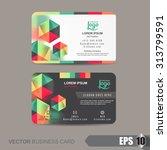 vector illustration business... | Shutterstock .eps vector #313799591