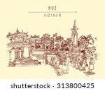 hue  vietnam  indochina. tomb...