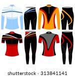 bike shirt style vector on a... | Shutterstock .eps vector #313841141