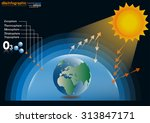 infographics design with... | Shutterstock .eps vector #313847171