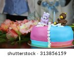 Birthday Cake With Bears And...