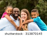 multicultural family | Shutterstock . vector #313870145