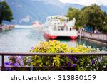 Flower Pot Over The Canals Of...