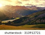 Beautiful Alpine Landscape Wit...
