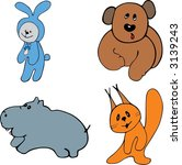 animals | Shutterstock .eps vector #3139243