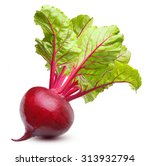beetroot with leaves  fresh... | Shutterstock . vector #313932794